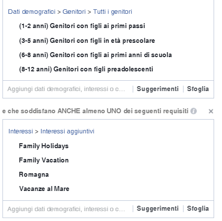 I target audience per promuovere il tuo hotel su Facebook 1