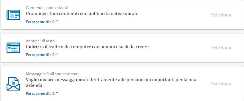 Messaggi InMail