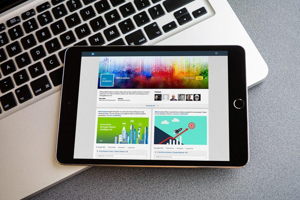 Pagina vetrina o pagina aziendale LinkedIn