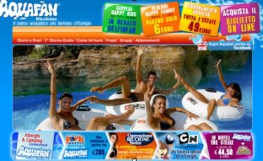 www.aquafan.it: per vivere in anteprima il divertimento del Parco Acquatico più famoso d'Europa