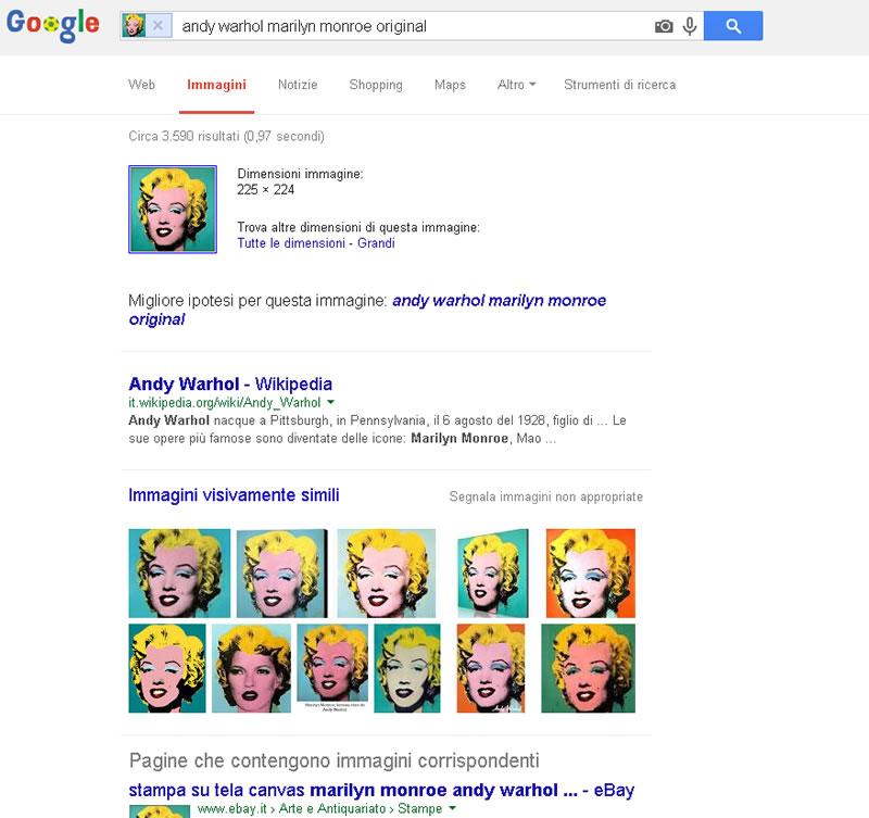 10 trucchi efficaci per le ricerche su google ricerca per for Ricerca per immagini google