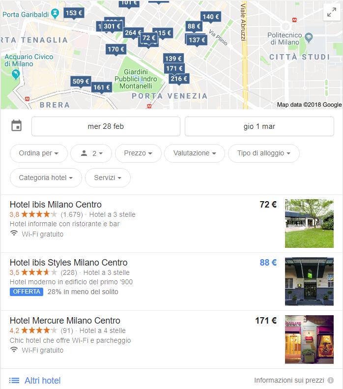 Google Hotel Ads: vendere il tuo hotel direttamente su Google 2