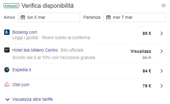 Google Hotel Ads: vendere il tuo hotel direttamente su Google 4