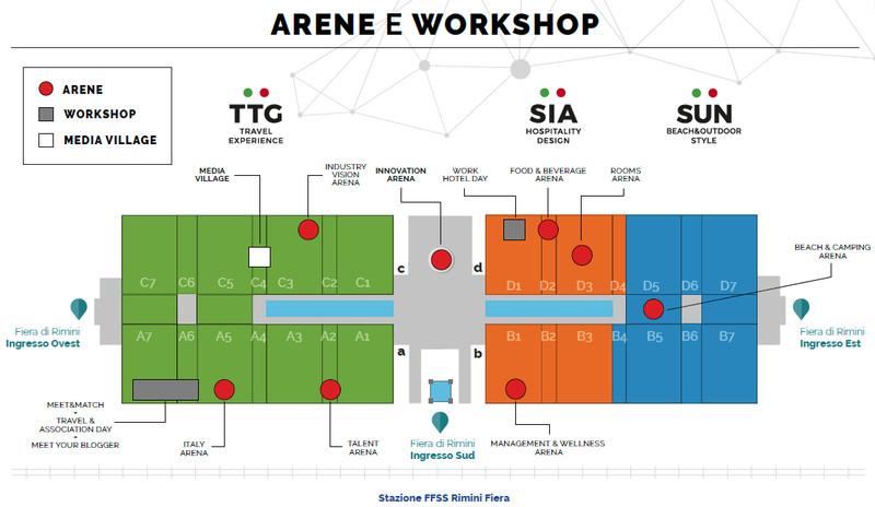 TTG 2018: il marketplace del turismo e dell'ospitalità a Rimini