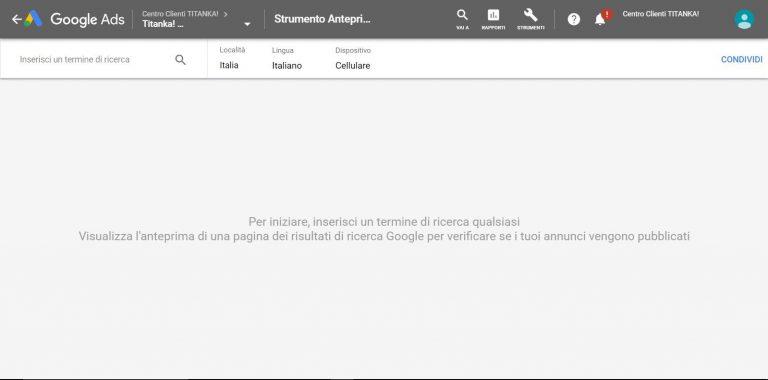 Perché non riesco a vedere il mio annuncio Google Ads? 3
