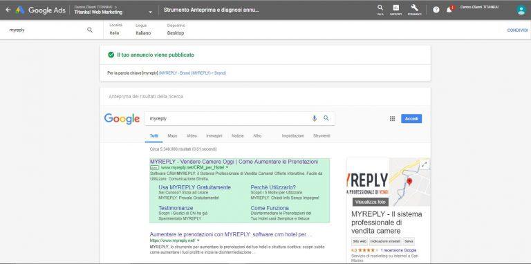 Perché non riesco a vedere il mio annuncio Google Ads? 4