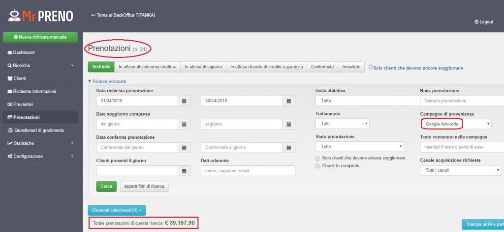 Monitoraggio e analisi delle conversioni AdWords: l'importanza strategica di Mr PRENO