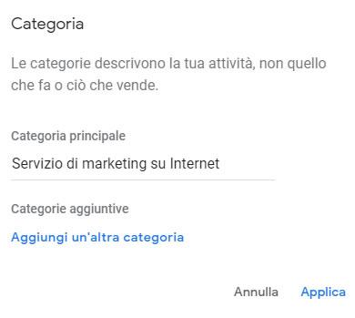 La scheda Google My Business: crearla, rivendicarla e gestirla al meglio 6