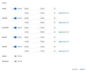 La scheda Google My Business: crearla, rivendicarla e gestirla al meglio 7