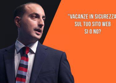 """""""Vacanze in sicurezza"""" sul tuo sito web: SI o NO?"""